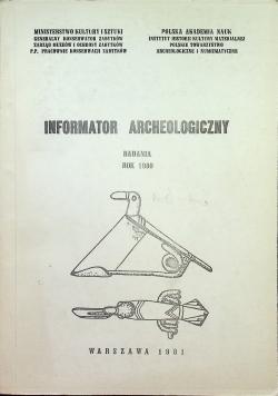 Informator archeologiczny badania rok 1980