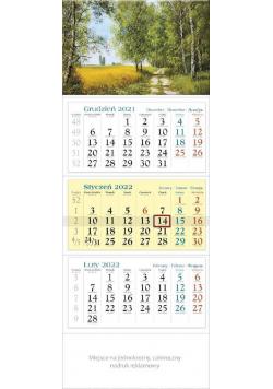 Kalendarz 2022 trójdzielny KT 12 Malarstwo