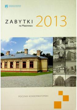 Zabytki na Mazowszu 2013