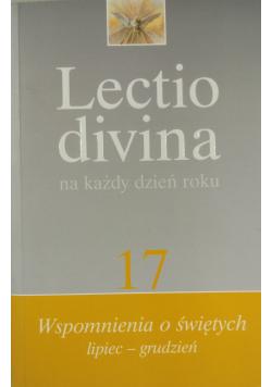 Lectio divina na każdy dzień roku Tom 17