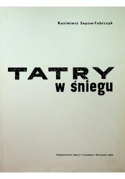 Tatry w śniegu