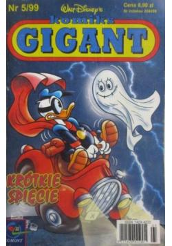 Komiks Gigant Krótkie spięcie