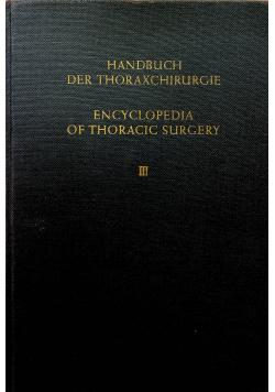 Handbuch der Thoraxchirurgie Tom II