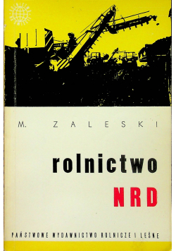 Rolnictwo NRD