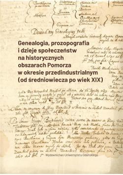 Genealogia, prozopografia i dzieje społeczeństw...