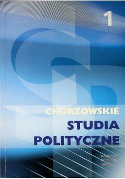 Chorzowskie Studia Polityczne 1