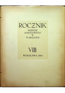 Rocznik Muzeum Narodowego w Warszawie VIII