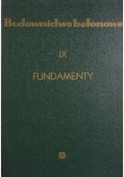 Fundamenty wyd I