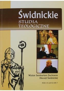 Świdnickie Studia Teologiczne Rok VII Nr 7