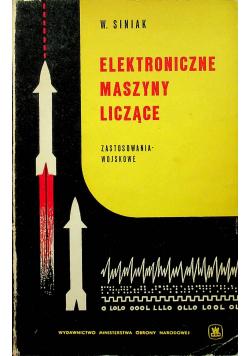 Elektroniczne maszyny liczące