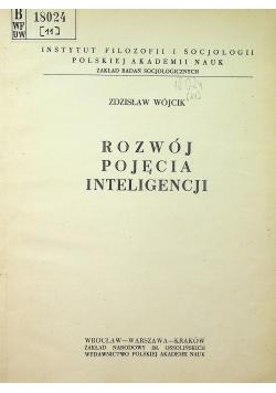 Rozwój pojęcia inteligencji