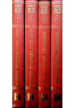Dzieje powszechne XX wieku 4 tomy