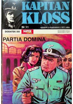 Kapitan Kloss nr 11 Partia Domina