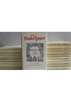 Shakespeare Dzieła 19 tomów