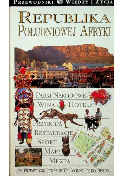 Republika Południowej Afryki Parki Narodowe