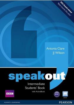 Speakout Intermediate Students Book z płytą DVD