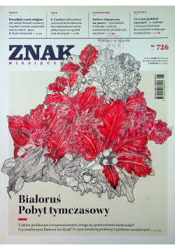 Znak Miesięcznik 726 Białoruś Pobyt tymczasowy
