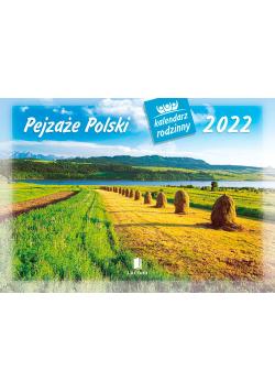 Kalendarz 2022 WL03 Pejzaże Polski Kalendarz rodzinny