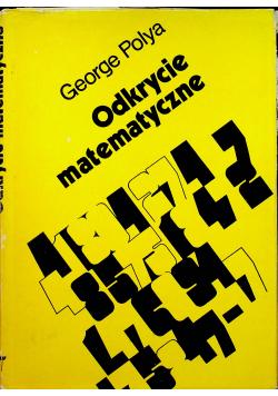 Odkrycie matematyczne