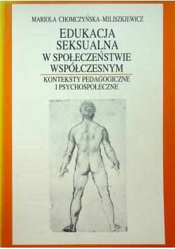 Edukacja seksualna w społeczeństwie współczesnym