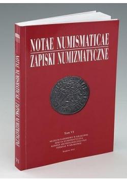Notae Numismaticae. Zapiski Numizmatyczne T.6