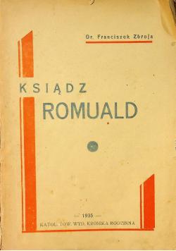 Ksiądz Romuald 1935 r.