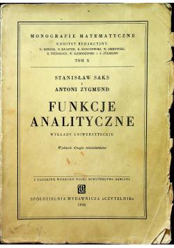 Funkcje analityczne 1948 r