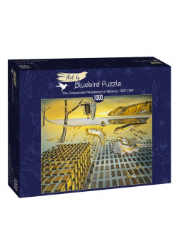 Puzzle 1000 Salvador Dali, Korpuskularna trwałość