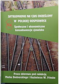 Zatrudnienie na czas określony w Polskiej gospodarce