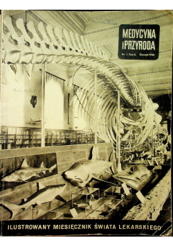 Medycyna i Przyroda nr 1  1938 r.