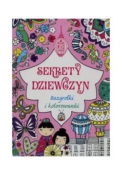 Sekrety dziewczyn Bazgrołki i kolorowanki
