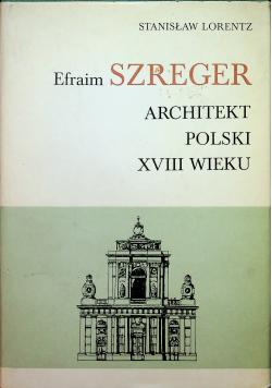 Architekt polski XVIII wieku
