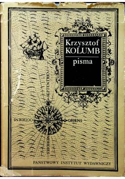 Krzysztof Kolumb Pisma