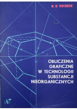 Obliczenia graficzne w technologii substancji nieorganicznych