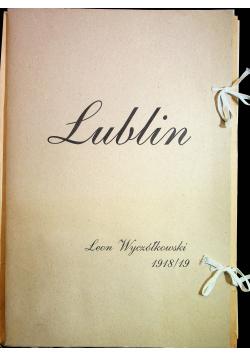 Lublin 7 autolitografii Leona Wyczółkowskiego