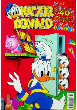 Kaczor Donald nr 21