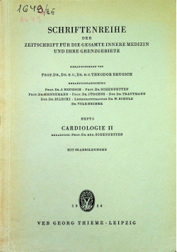 Schriftenreihe der zeitschrift fur die gesamte innere medizin