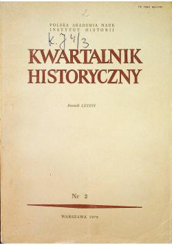 Kwartalnik historyczny Rocznik LXXXVI Nr 2