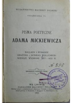 Pisma poetyczne 1930 r