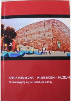 Sfera publiczna przestrzeń muzeum