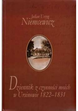 Dziennik z czynności moich w Ursinowie 1822-1831