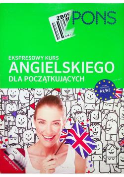 Ekspresowy kurs angielskiego dla średnio zaawansowanych plus CD