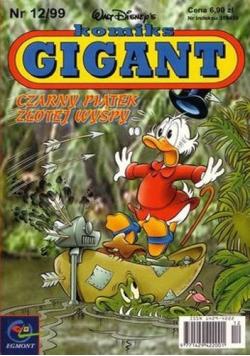 Komiks gigant czarny piątek złotej wyspy