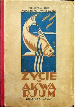 Życie w akwarjum 1928r