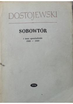 Sobowtór i inne opowiadania 1846 1848