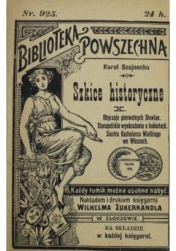 Szkice historyczne X 1902 r.