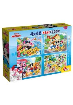 Puzzle SuperMaxi 4x48 Myszka Miki i Przyjaciele