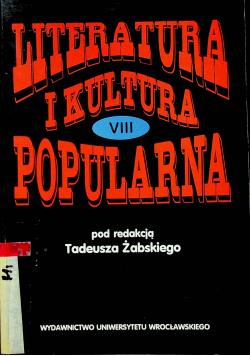 Literatura i kultura popularna VIII