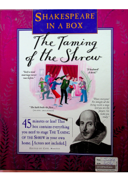 Shakespeare in a box The Taming of the Shrew