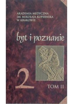 Byt i poznanie Tom II